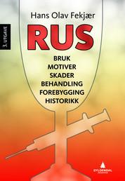 Forside fra bok - Hans Olav Fekjær - Rus